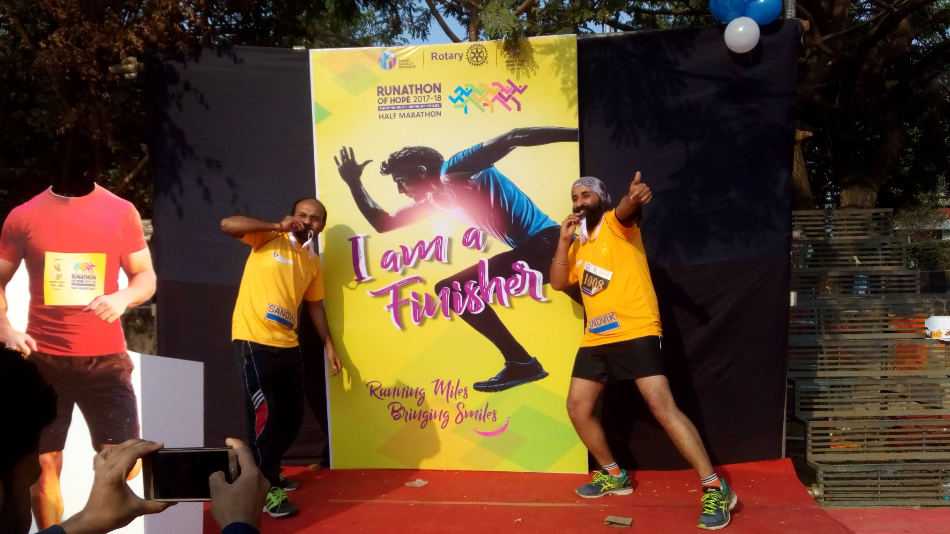 runathon of hope finnisher