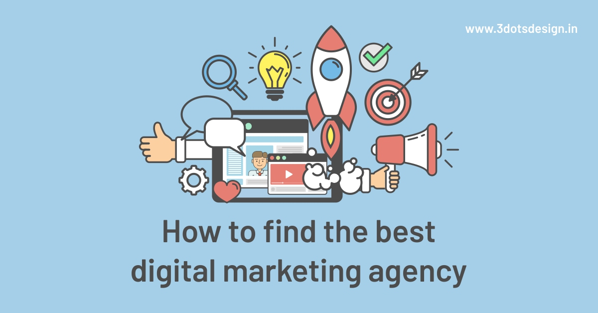 best digital marketing agency | 3Dots Design