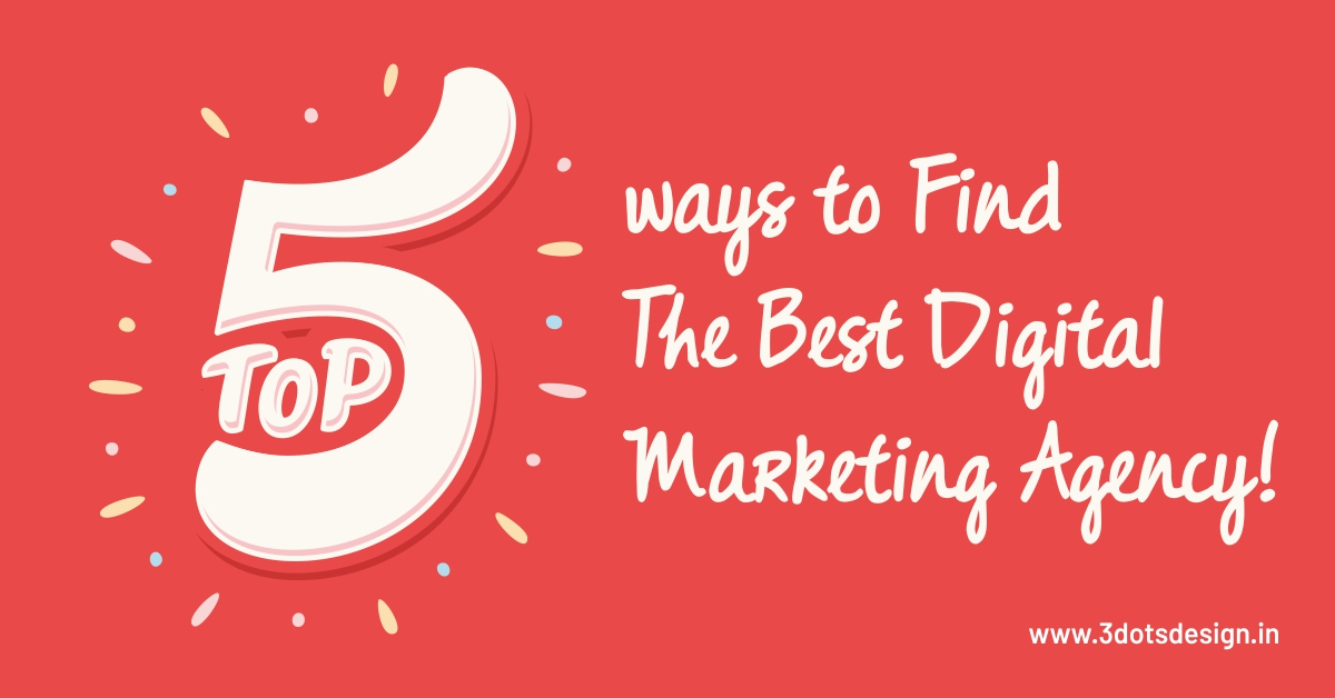 The Best Digital Marketing Agency | 3Dots Design