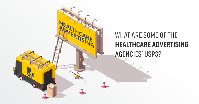 What are some of the healthcare advertising agencies' USP
